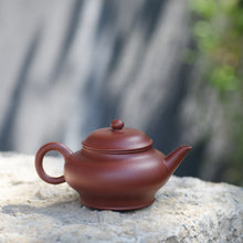 "Load image into Gallery viewer, Yixing "" Yin Chun Shui Ping "" Teapot 120CC ""Da Hong Pao"" Mud"