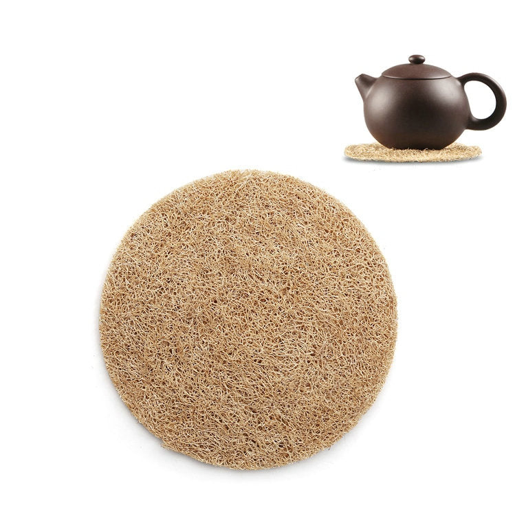 Natural Loofah Pad for Yixing Teapot, Cup, Gaiwan