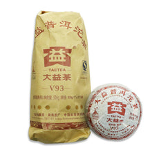 "Load image into Gallery viewer, 2010 DaYi ""V93"" Tuo 100g Puerh Shou Cha Ripe Tea - King Tea Mall"