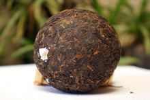 "Load image into Gallery viewer, 2018 XiaGuan ""Xiao Fa"" Tuo 100g*5=500g Puerh Ripe Tea Shou Cha - King Tea Mall"