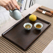 Load image into Gallery viewer, Bamboo Tea Tray 2 Variations / Saucer - King Tea Mall