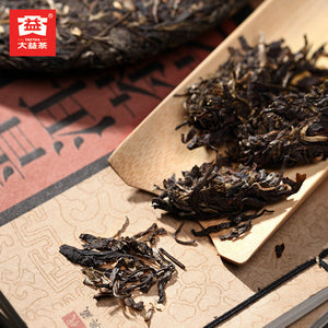 "2011 DaYi ""8582"" Cake 357g Puerh Sheng Cha Raw Tea (Batch 102) - King Tea Mall"