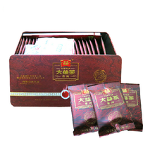 "Load image into Gallery viewer, 2012 DaYi ""1st Grade Loose Leaf"" 125g (25 bags) Puerh Shou Cha Ripe Tea - King Tea Mall"