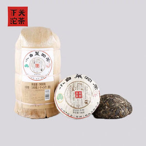 "2018 XiaGuan ""Xiao Bai Cai"" (Small Cabage) Tuo 180g Puerh Raw Tea Sheng Cha - King Tea Mall"