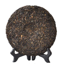 "Load image into Gallery viewer, 2014 DaYi ""Yi Wu Zheng Shan"" (Yiwu Mountain) Cake 357g Puerh Sheng Cha Raw Tea - King Tea Mall"