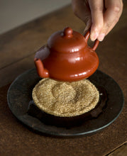Load image into Gallery viewer, Natural Loofah Pad for Yixing Teapot, Cup, Gaiwan