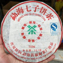 "Load image into Gallery viewer, 2006 FuHai ""7536"" Cake 357g Puerh Raw Tea Sheng Cha"
