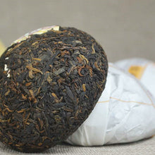 "Load image into Gallery viewer, 2016 DaYi ""V93"" Tuo 100g Puerh Shou Cha Ripe Tea - King Tea Mall"