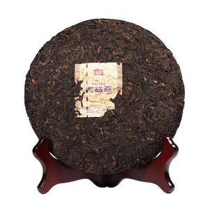 "2016 DaYi ""Yue Chen Yue Xiang"" (The Older The Better) Cake 357g Puerh Shou Cha Ripe Tea - King Tea Mall"