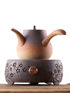 "ChaoZhou ""Sha Tiao"" Water Boiling Kettle Multi Color Left-handed Option Available around 800ml"