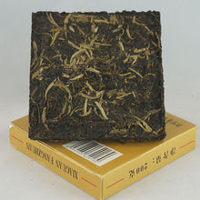 "Load image into Gallery viewer, 2006 XiaGuan ""Fang Cha"" (Square Tea Brick) 200g Puerh Sheng Cha Raw Tea - King Tea Mall"