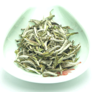 "2018 Spring ""Bai Hao Yin Zhen"" (White Hair Silver Needle) White Tea Fuding Fujian Province - King Tea Mall"