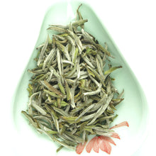 "Load image into Gallery viewer, 2018 Spring ""Bai Hao Yin Zhen"" (White Hair Silver Needle) White Tea Fuding Fujian Province - King Tea Mall"