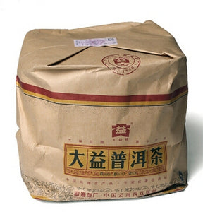 "2008 DaYi ""Qi Zi Zhi Ge"" (Songs for 7 Sons) Cake 357g Puerh Shou Cha Ripe Tea - King Tea Mall"