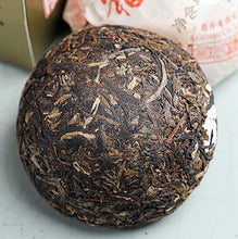 "Load image into Gallery viewer, 2012 XiaGuan ""Fu Lu Shou Xi"" (4 Fortunes) Tuo 1000g Puerh Sheng Cha Raw Tea - King Tea Mall"