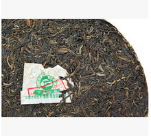 "Load image into Gallery viewer, 2013 XiaGuan ""FTT8653-13"" Iron Cake 357g Puerh Sheng Cha Raw Tea - King Tea Mall"
