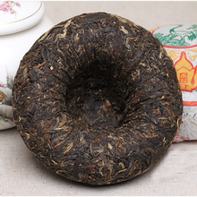 "Load image into Gallery viewer, 2009 XiaGuan ""Nan Zhao Jin Ya"" (Golden Bud) 200g Puerh Sheng Cha Raw Tea - King Tea Mall"
