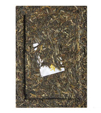"Load image into Gallery viewer, 2013 ChenShengHao ""Jin Ban Zhang"" (Golden Banzhang ) Brick 1000g Puerh Raw Tea Sheng Cha - King Tea Mall"