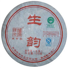 "Load image into Gallery viewer, 2010 ChenShengHao ""Sheng Yun"" (Raw Rhythm) 100g Puerh Raw Tea Sheng Cha - King Tea Mall"