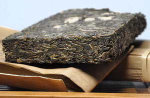 "2013 MengKu RongShi ""100%"" Brick 500g Puerh Raw Tea Sheng Cha - King Tea Mall"