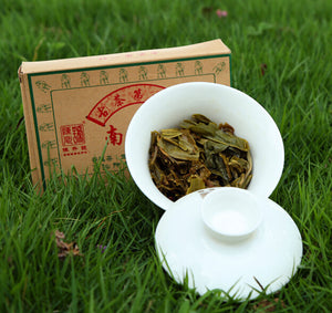 "2015 ChenShengHao ""Nan Nuo Shan"" (Nannuo Mountain) Brick 250g Puerh Raw Tea Sheng Cha - King Tea Mall"