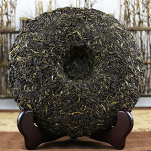 "Load image into Gallery viewer, 2015 DaYi ""7742"" Cake 357g Puerh Sheng Cha Raw Tea - King Tea Mall"