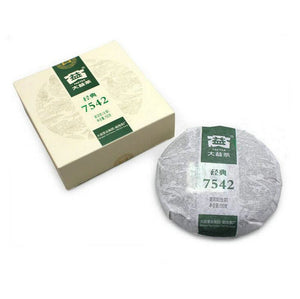 "2013 DaYi ""7542"" Cake 150g Puerh Sheng Cha Raw Tea - King Tea Mall"