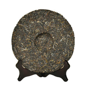 "2015 DaYi ""7542"" Cake 357g Puerh Sheng Cha Raw Tea - King Tea Mall"