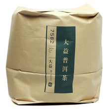 "Load image into Gallery viewer, 2014 DaYi ""7582"" Cake 357g Puerh Sheng Cha Raw Tea - King Tea Mall"