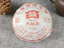 "Load image into Gallery viewer, 2011 DaYi ""V93"" Tuo 250g Puerh Shou Cha Ripe Tea - King Tea Mall"