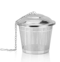 Load image into Gallery viewer, Stainless Steel Cage Tea Infuser / Strainer / Filter - King Tea Mall