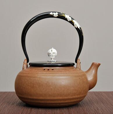 Chaozhou Pottery Water Boiling Kettle