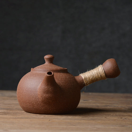 ChaoZhou Pottery Water Boiling Kettle 530ml - King Tea Mall