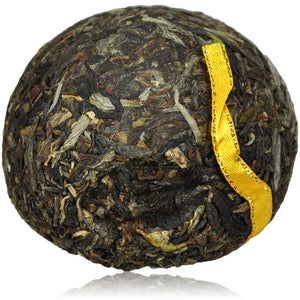 "2009 XiaGuan ""Jin Si"" (Golden Ribbon) 100g Puerh Sheng Cha Raw Tea - King Tea Mall"