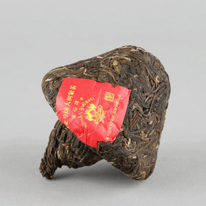 "2017 XiaGuan ""Lv Da Shu"" (Big Green Tree) Tuo 150g Puerh Sheng Cha Raw Tea"