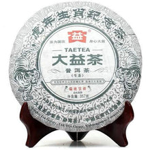 "Load image into Gallery viewer, 2010 DaYi ""Rui Hu Cheng Xiang "" (Zodiac Tiger) Cake 357g Puerh Sheng Cha Raw Tea - King Tea Mall"