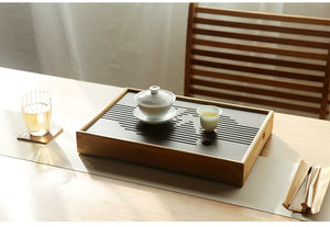 Bamboo Tea Tray with Water Tank 3 Variations