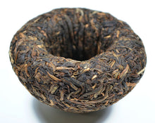 "Load image into Gallery viewer, 2009 XiaGuan ""Jin Hua"" (Golden Flower) Tuo 100g Puerh Sheng Cha Raw Tea - King Tea Mall"