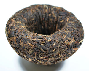 "2009 XiaGuan ""Jin Hua"" (Golden Flower) Tuo 100g Puerh Sheng Cha Raw Tea"