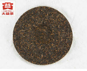 "2013 DaYi ""Long Zhu"" (Dragon Pillar) Cake 357g Puerh Shou Cha Ripe Tea"
