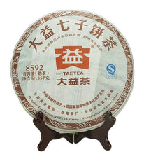 "Load image into Gallery viewer, 2012 DaYi ""8592"" Cake 357g Puerh Shou Cha Ripe Tea"