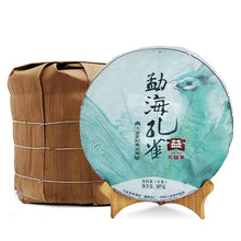 "Load image into Gallery viewer, 2014 DaYi ""Meng Hai Kong Que"" (Peacock of Menghai) Cake 357g Puerh Sheng Cha Raw Tea"