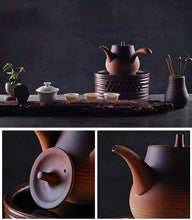 "Load image into Gallery viewer, ChaoZhou ""Sha Tiao"" Water Boiling Kettle Multi Color Left-handed Option Available around 800ml"