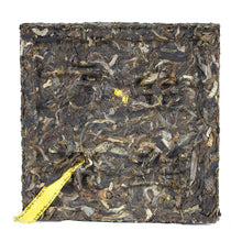 "Load image into Gallery viewer, 2017 XiaGuan ""ShangPin JinSi DaXueShan"" (Golden Ribbon Big Snow Mountain) Brick 100g Puerh Raw Tea Sheng Cha - King Tea Mall"