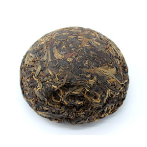 "2004 XiaGuan ""Te Ji"" (Special Grade - Red Eye Version) Tuo 100g Puerh Sheng Cha Raw Tea - King Tea Mall"