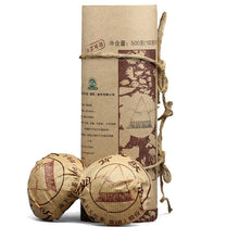 "Load image into Gallery viewer, 2007 XiaGuan ""Ma Bei"" (Horse Back) 250g*5pcs Puerh Sheng Cha Raw Tea - King Tea Mall"