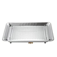 Load image into Gallery viewer, Rectangle Stainless Steel Tea Tray with Water Tank and Water Outlet 3 Variations
