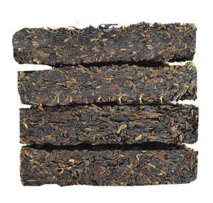 "2005 XiaGuan ""Fu Lu Shou Xi"" (4 Fortunes) Brick 250g*4pcs Puerh Sheng Cha Raw Tea - King Tea Mall"