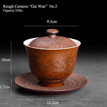 Load image into Gallery viewer, Rough Ceramic Gaiwan 230cc, KTM20