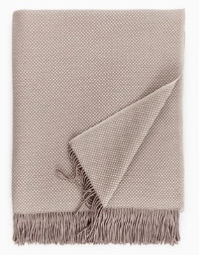 Bristol Throw, Taupe